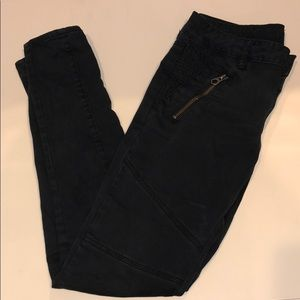 American Eagle Black Jegging Super Stretch